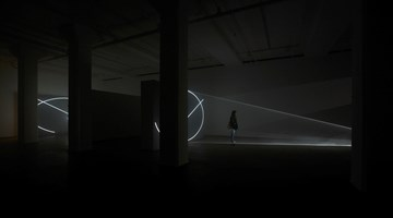 Contemporary art exhibition, Anthony McCall, Split Second at Sean Kelly, New York