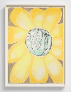Mi Ama, Non Mi Ama (Ex Libris Chenonceau) by Francesco Clemente contemporary artwork