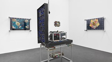 Contemporary art exhibition, Simon Denny, Games of Decentralized Life at Galerie Buchholz, Cologne