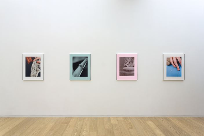 Exhibition view: Angela Bulloch, Josephine Pryde, Sky, Rocks & Digits, Simon Lee Gallery, Hong Kong (6 November 2020–9 January 2021). Courtesy the artist and Simon Lee Gallery.