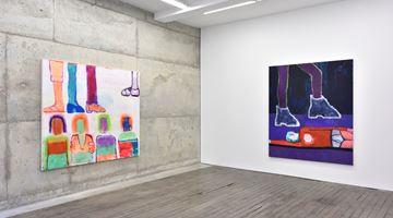 Contemporary art exhibition, Katherine Bradford, Artist, Cops and Circus People at Campoli Presti, Paris