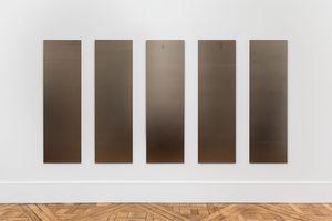 Untitled 2 (8.5) - numbers 6-10 by Liz Deschenes contemporary artwork