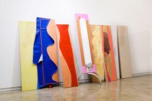 Decals Roam to Move by Jessica Stockholder contemporary artwork