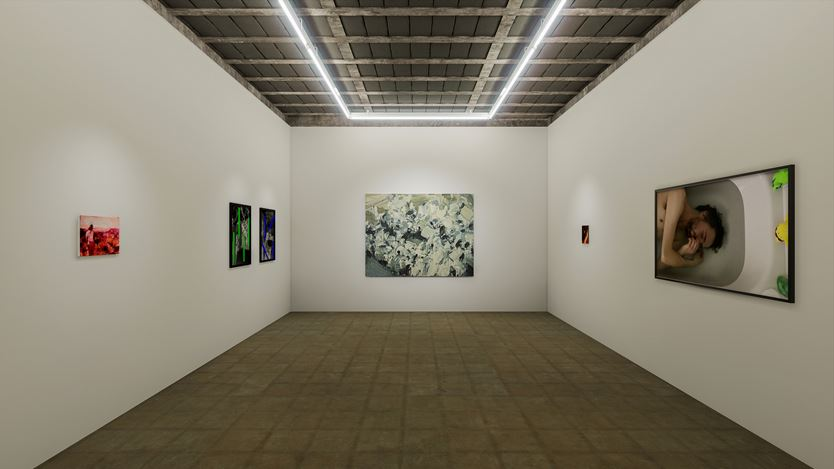 Exhibition view: Group Exhibition,Transmission, Workplace, Gateshead (17 July–5 September 2020). Courtesy WORKPLACE.