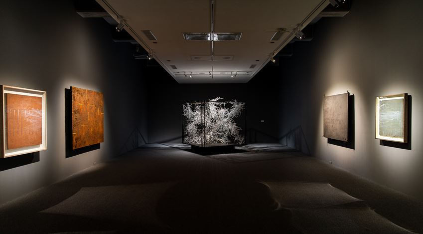 Installation view: Paul Chiang,A Retrospective, Taipei Fine Arts Museum, Taipei (28 March–28 June 2020). Courtesy Taipei Fine Arts Museum.