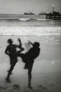 On Accra Beach, Ghana by Marc Riboud contemporary artwork photography, print