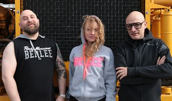 Stefanie Hessler, Kostis Stafylakis and Poka-Yio