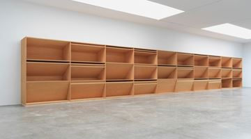 Contemporary art exhibition, Donald Judd, Artwork: 1980 at Gagosian, West 21st Street, New York