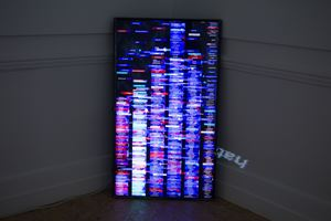 Emotion Sequence by Charles Sandison contemporary artwork