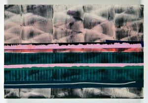 Herida y horizonte by Juan Uslé contemporary artwork