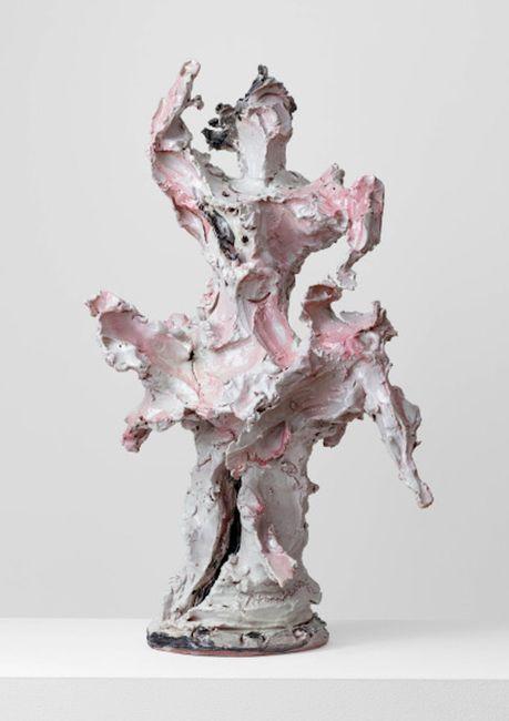 Ballerina by Lucio Fontana contemporary artwork