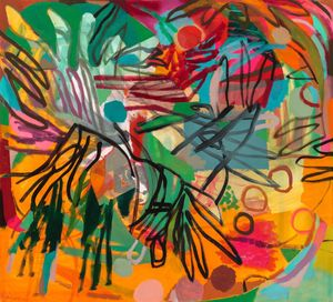 Beneath a Tree by Bill Scott contemporary artwork