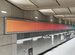 Alexandre da Cunha Brings Sunrise and Sunset to London Underground