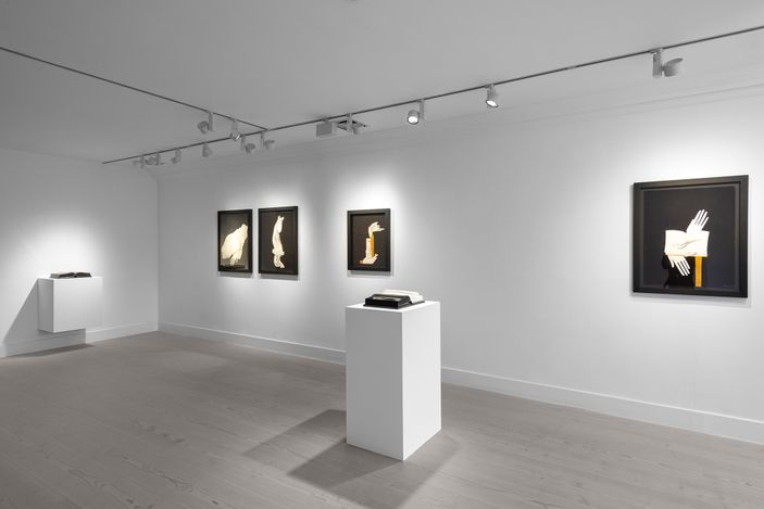 Exhibition view: Aidan Salakhova, The Dust Became The Breath, Gazelli Art House, London (29 April–6 June 2021). Courtesy Gazelli Art House.