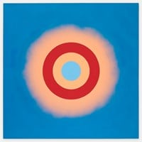 Mysteries: Wild Heart by Kenneth Noland contemporary artwork painting