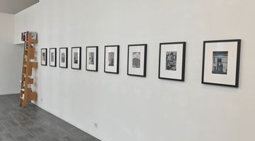 Contemporary art exhibition, André Kertész, Michael Wolf, Rooftops at Gallery Fifty One Too, Antwerp