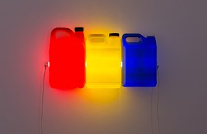 Red Yellow Blue by Bill Culbert contemporary artwork