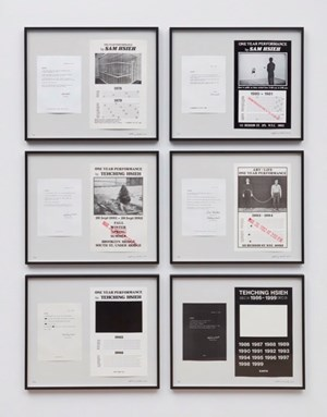 Tehching Hsieh 1978 - 1999 by Hsieh Tehching contemporary artwork