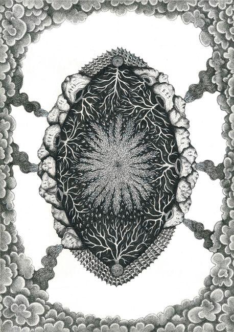 As Above, So Below by Bert Gilbert contemporary artwork