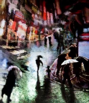 Sotto La Pioggia by Andrea Pacanowski contemporary artwork