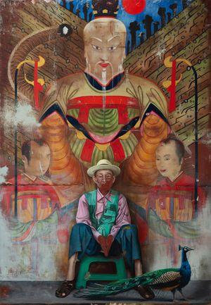 San Geronimo by Helena Parada Kim contemporary artwork