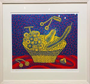 No. 273 Fruit Basket by Yayoi Kusama contemporary artwork print