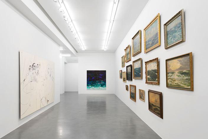 Exhibition view: Group Exhibition,En Plein Air, Simon Lee Gallery, London (19 July–31 August 2019). Courtesy Simon Lee Gallery.
