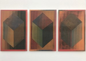 Lenticular LeWitt by Jonathan Monk contemporary artwork