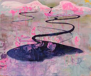 down by easter where the rivers run high by Rebekka Steiger contemporary artwork