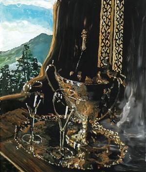 Von Augenblick zu Augenblick by Wolf Hamm contemporary artwork