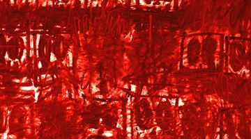 Contemporary art exhibition, Rashid Johnson, Untitled Anxious Red Drawings at Hauser & Wirth, Hong Kong