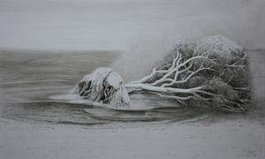 Bord de l'eau by Li Donglu contemporary artwork