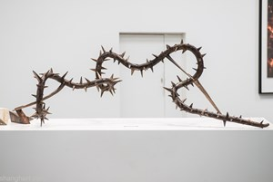 The Thorny Road of Food Digestion by Chen Xiaoyun contemporary artwork