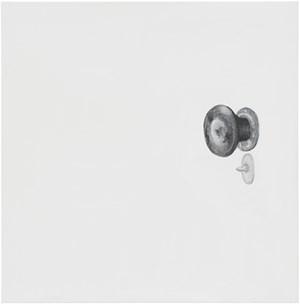 Untitled (Door Knob) by Mayo Thompson contemporary artwork