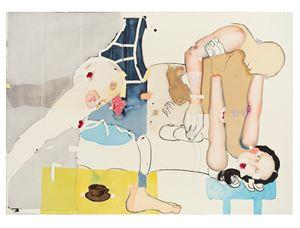 Untitled (42) by Magnus Plessen contemporary artwork