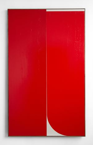 Red #3 by Johnny Abrahams contemporary artwork