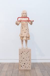 The Second Breath by Gehard Demetz contemporary artwork sculpture