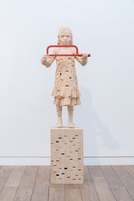 The Second Breath by Gehard Demetz contemporary artwork