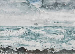 Keelung Islet: Huge Wave by Lin Chuan-Chu contemporary artwork