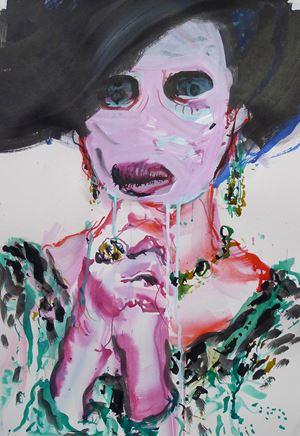 Die Erbschaft by Ulrike Theusner contemporary artwork