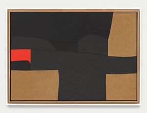 Cellotex (Celotex) by Alberto Burri contemporary artwork
