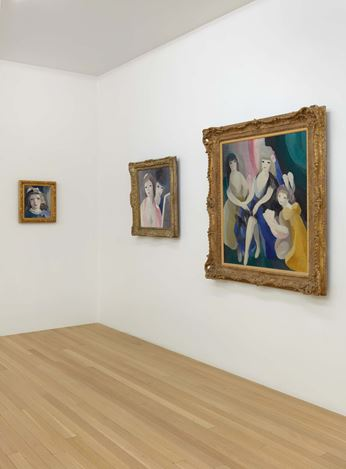 Exhibition view: Marie Laurencin, An Exhibition Organized by Jelena Kristic, Galerie Buchholz, New York (5 March–16 May 2020). Courtesy Galerie Buchholz Berlin/Cologne/New York.