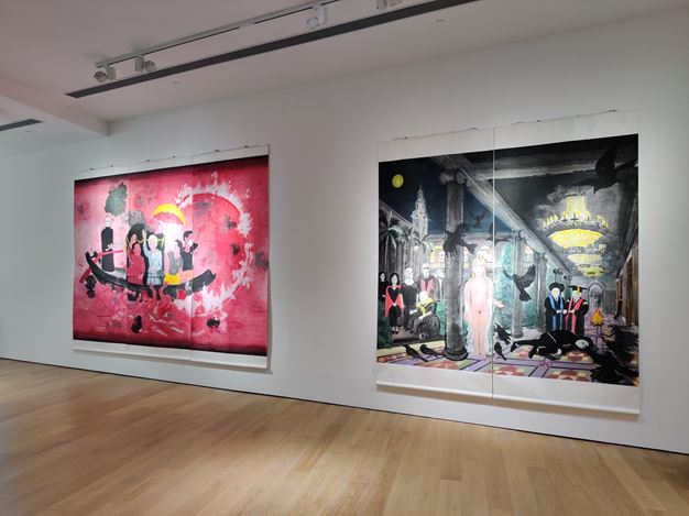 Exhibition view: Group Exhibition, Transformation of Practices, Tang Contemporary, Hong Kong (23 April–23 May 2020). Courtesy Tang Contemporary.