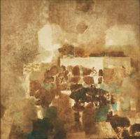 Sikri by S. H. Raza contemporary artwork painting