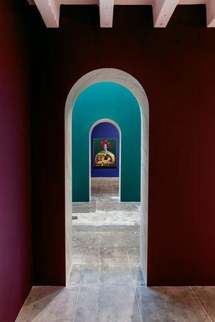 Exhibition view: Nicolas Party, Sottobosco, Hauser & Wirth, Los Angeles (13 February–12 April 2020). © Nicolas Party. Courtesy the artist and Hauser & Wirth. Photo: Joshua White / JWPictures.