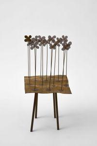 Campo di violette (Violets' Field) by Fausto Melotti contemporary artwork sculpture