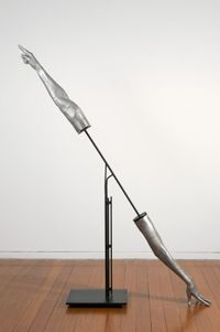 Instrument: Touching and Pointi by Julie Rrap contemporary artwork sculpture