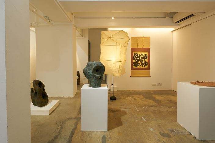 Exhibition view:Sofu  Teshigahara and Isamu Noguchi, SHOP Taka Ishii Gallery, Hon Kong (11 December 2020 – 31 January 2021). Courtesy of SHOP Taka Ishii Gallery, Hong Kong. Photo: Anthony Kar-Long Fan.