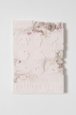 Rose Quartz Eroded American Design Book by Daniel Arsham contemporary artwork