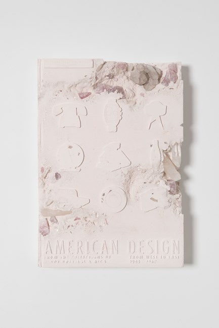 Rose Quartz Eroded American Design Book by Daniel Arsham contemporary artwork